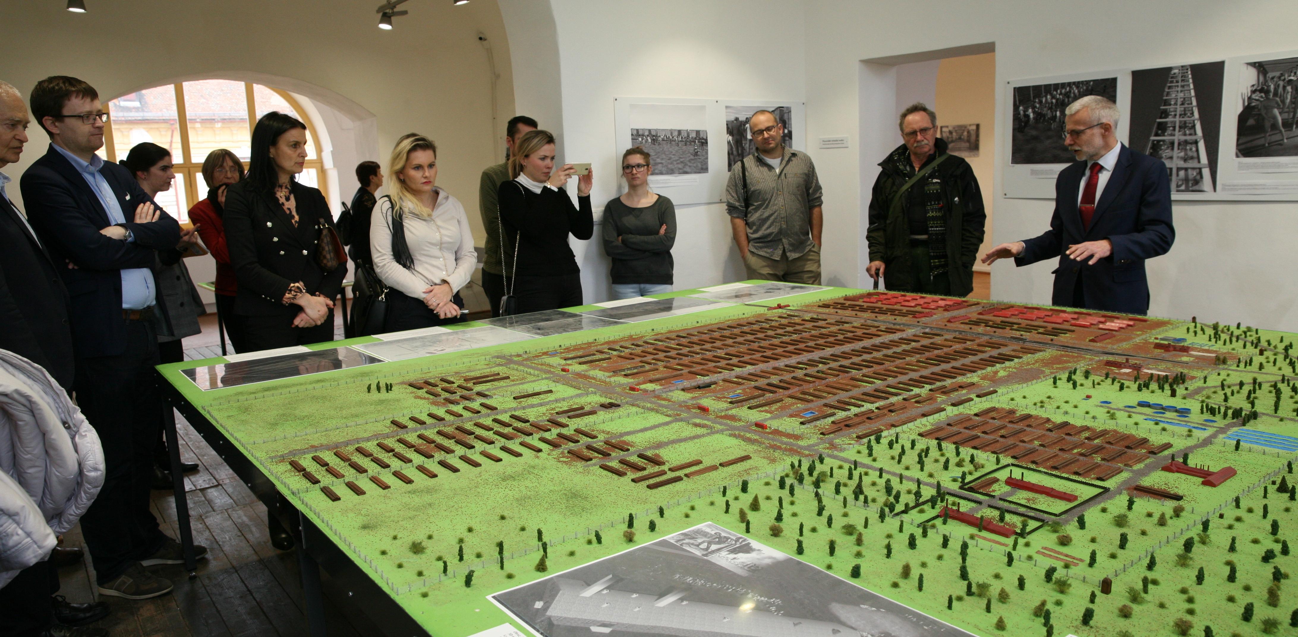 Den památky obětí likvidace terezínského rodinného tábora, Centrum studií genocid Terezín 9. 3. 2019